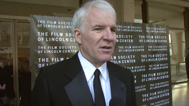 steve martin at the film society of lincoln center tribute to diane keaton at avery fisher hall in new york new york on april 9 2007 - diane keaton stock videos & royalty-free footage