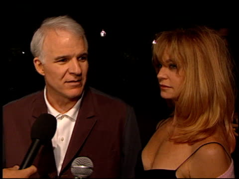 steve martin at the premiere of 'the outoftowners' at paramount studios in hollywood california on march 29 1999 - paramount studios stock videos and b-roll footage