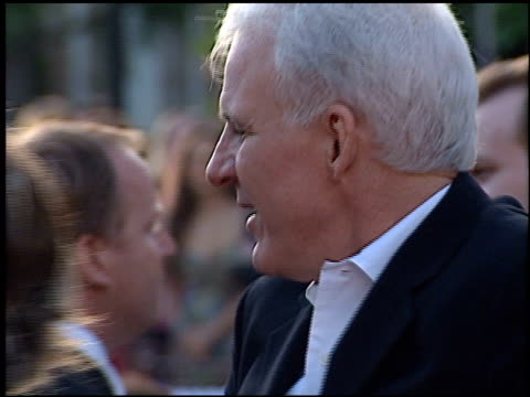 steve martin at the premiere of 'the score' at paramount studios in hollywood california on july 9 2001 - paramount studios stock videos & royalty-free footage