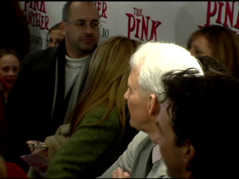 Steve Martin at the 'The Pink Panther' World Premiere at the Ziegfeld Theatre in New York New York on February 6 2006