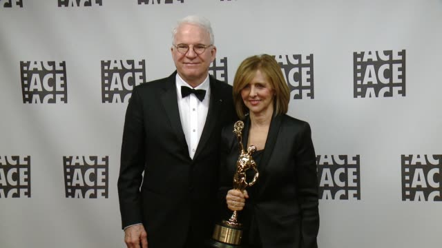 Steve Martin Nancy Meyer at 66th Annual ACE Eddie Awards in Los Angeles CA