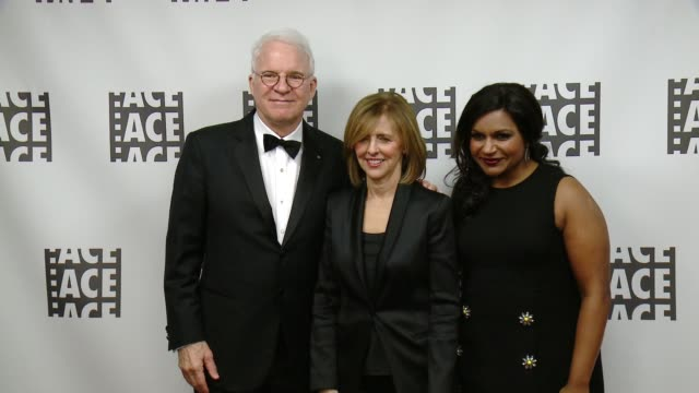 Steve Martin Nancy Meyer Mindy Kaling at 66th Annual ACE Eddie Awards in Los Angeles CA