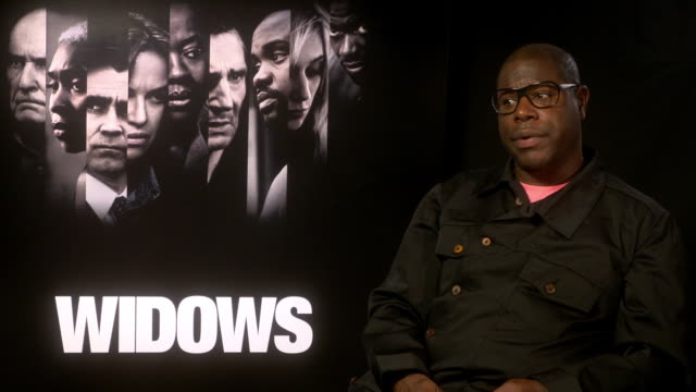 GBR: 'Widows' - Interviews - 62nd BFI London Film Festival