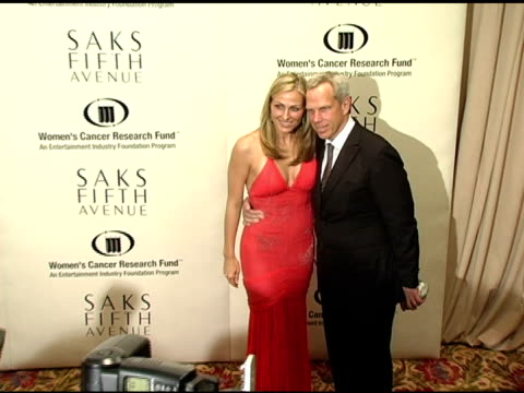 Steve Tisch and Wife at the 2005 Courage Award Given To Lance Armstrong At Saks Fifth Avenue's Unforgettable Evening at the Regent Beverly Wilshire...