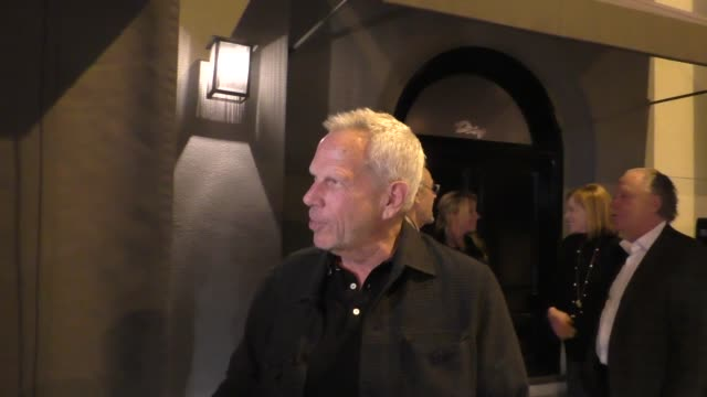 INTERVIEW Steve Tisch comments on NY Giants head coach search outside Craig's in West Hollywood in Celebrity Sightings in Los Angeles