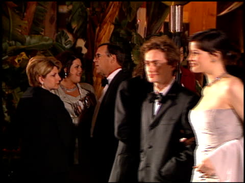 steve tyler at the 1999 academy awards vanity fair party at morton's in west hollywood, california on march 21, 1999. - 71st annual academy awards stock videos & royalty-free footage