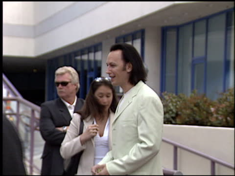 steve valentine at the bob hope honored with hollywood walk of fame plaque at hollywood boulevard in hollywood, california on april 15, 2003. - ボブ ホープ点の映像素材/bロール
