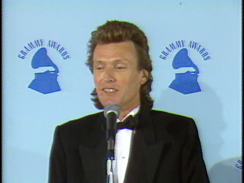 Steve Winwood at the Grammy Awards 1987 at Shrine Auditorium