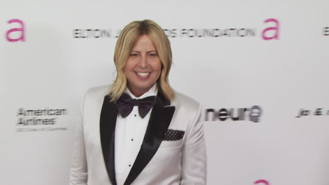 steven cojocaru at the 18th annual elton john aids foundation oscar party at west hollywood ca. - oscar party stock videos & royalty-free footage