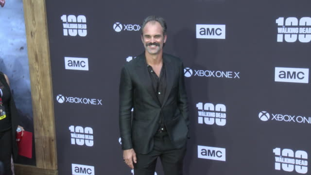 Steven Ogg at the AMC's The Walking Dead 100th Episode Season 8 Special Premiere Screening at The Greek Theatre on October 22 2017 in Los Angeles...
