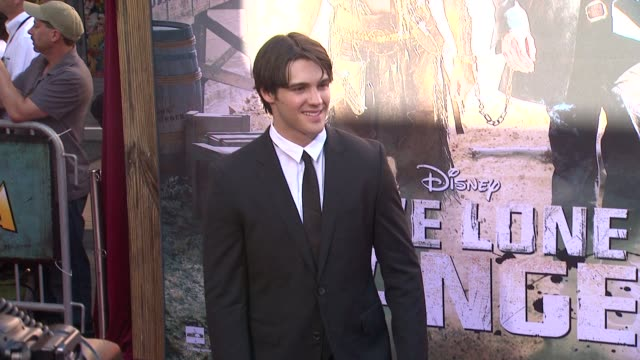 steven r mcqueen at the lone ranger los angeles premiere steven r mcqueen at the lone ranger los angeles at disney california adventure park on june... - the lone ranger 2013 film stock videos and b-roll footage