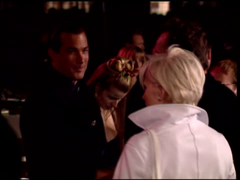 steven seagal at the 1996 academy awards vanity fair party at morton's in west hollywood, california on march 25, 1996. - 68th annual academy awards stock videos & royalty-free footage