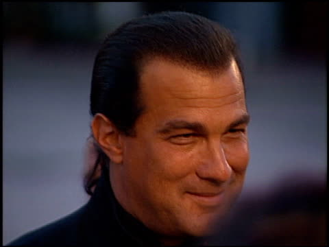 steven seagal at the 'twister' premiere on may 8, 1996. - twister 1996 film stock videos & royalty-free footage