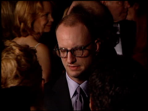 steven soderbergh at the director's guild dga awards at the century plaza hotel in century city, california on march 10, 2001. - century plaza stock videos & royalty-free footage
