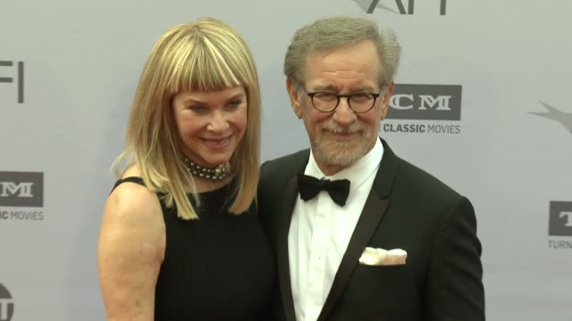 Steven Spielberg and Kate Capshaw at the AFI Life Achievement Awards A Tribute To John Williams at Dolby Theatre on June 09 2016 in Hollywood...