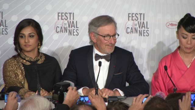 Steven Spielberg at Cannes Winners Reactions on 5/26/13 in Cannes France