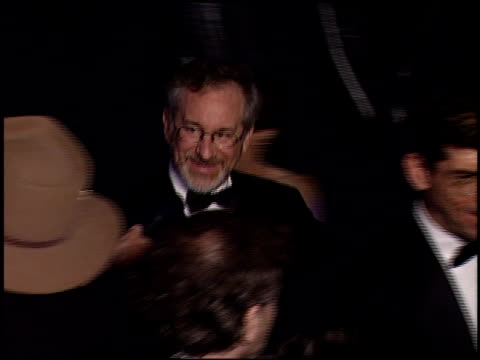 Steven Spielberg at the 2000 Academy Awards Dreamworks Party at Spago in Beverly Hills California on March 26 2000