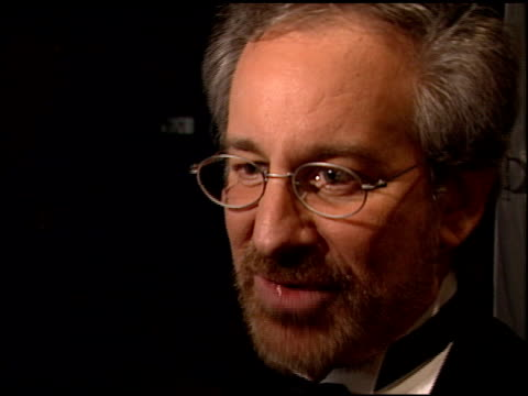 Steven Spielberg at the 2000 Golden Globes Dreamworks Party at the Beverly Hilton in Beverly Hills California on January 23 2000