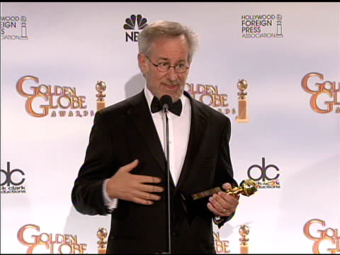 Steven Spielberg at the 66th Annual Golden Globe Awards Press Room at Los Angeles CA