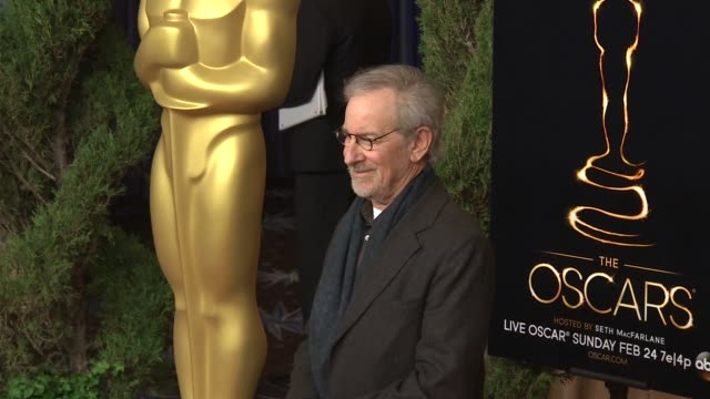 Steven Spielberg at the 85th Academy Awards Nominations Luncheon in Beverly Hills CA on 2/4/13