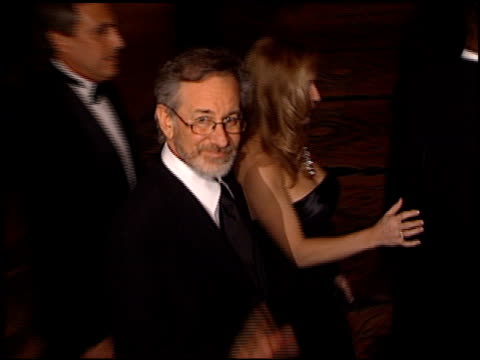 Steven Spielberg at the CedarsSinai Courage Awards Gala at Century Plaza in Century City California on March 27 2001