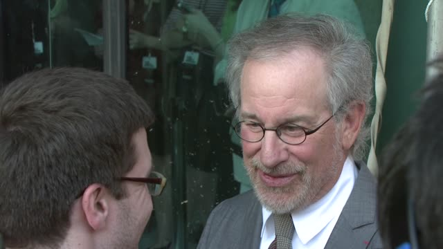 Steven Spielberg at the Film Society Of Lincoln Center's 36th Gala Tribute Honoring Tom Hanks at New York NY