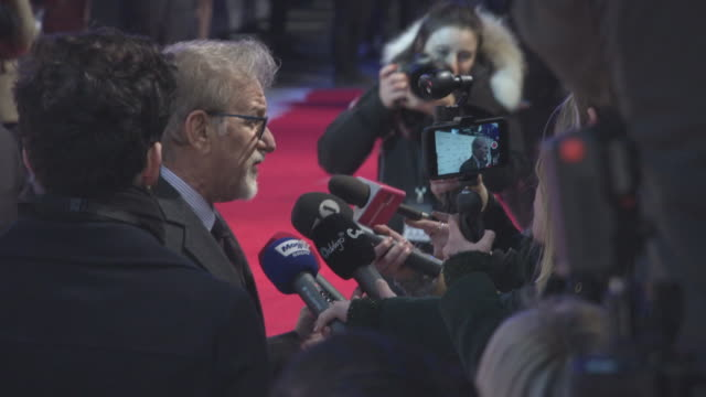 Steven Spielberg at 'The Post' European Premiere on January 10 2018 in London England