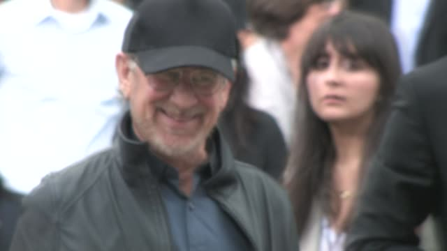 Steven Spielberg at the premiere of 'Super 8' in Westwood on 6/8/2011
