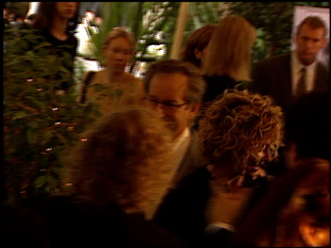 Steven Spielberg at the Women in Hollywood Luncheon at the Four Seasons Hotel in Beverly Hills California on November 16 1999