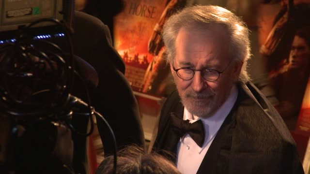 Steven Spielberg at War Horse UK Premiere at The Odeon Leicester Square on January 8 2012 in London England
