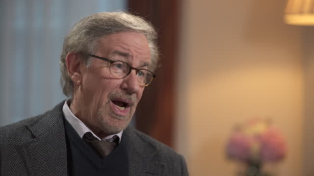 steven spielberg calling the jaws shark 'a prima donna' - steven spielberg stock videos & royalty-free footage