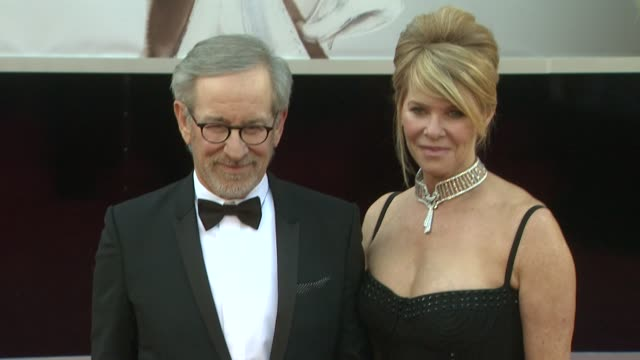 Steven Spielberg Kate Capshaw at 85th Annual Academy Awards Arrivals on 2/24/13 in Los Angeles CA