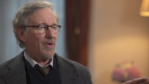 steven spielberg on fashion saying 'they actually dressed me up for some photo layout about 15 years ago in jodhpurs, i looked in the mirror and... - producer stock videos & royalty-free footage