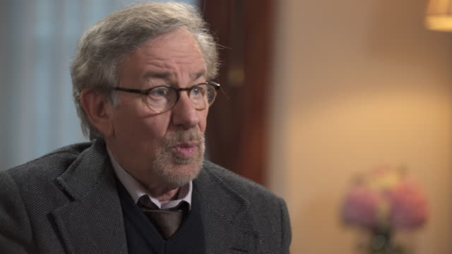 steven spielberg on his charity the usc shoah foundation - steven spielberg stock videos & royalty-free footage