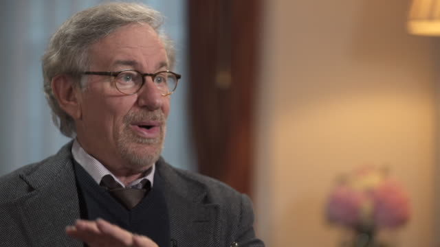 stockvideo's en b-roll-footage met steven spielberg on his favourite films being from the 1920s to the 1950s - steven spielberg