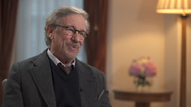 steven spielberg on his support for hillary clinton in the 2016 us presidential campaign - storytelling stock videos and b-roll footage
