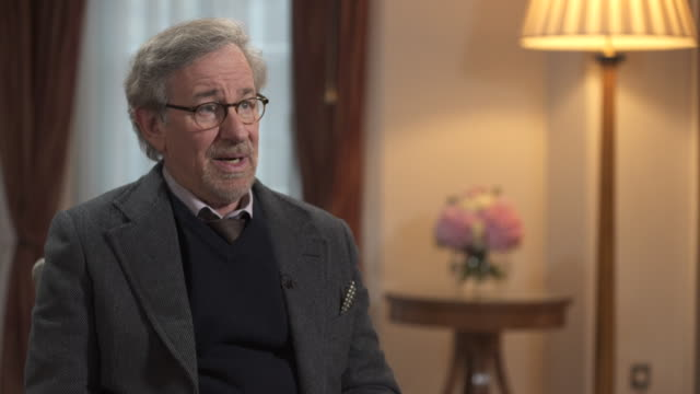 steven spielberg on making the film 'bridge of spies' - producer stock videos & royalty-free footage