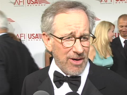 Steven Spielberg remembers that this day for him 10 years ago was full of laughter because he didnt know whaat to expect and says he is influenced by...