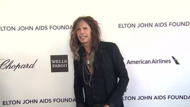 Steven Tyler at Elton John AIDS Foundation Presents 21st Annual Academy Awards Viewing Party Sponsored By Chopard Neuro Drinks And Wells Fargo on...