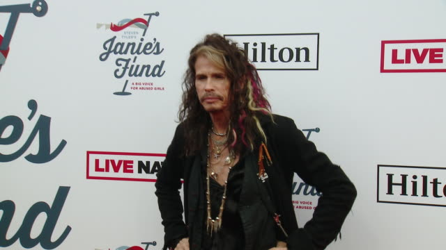 Steven Tyler at Steven Tyler's 2nd Annual GRAMMY Awards Viewing Party to Benefit Janie's Fund in Los Angeles CA
