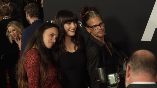 steven tyler liv tyler and chelsea tyler at the ad astra special screening at arclight cinerama dome on september 18 2019 in hollywood california - cinerama dome hollywood stock videos & royalty-free footage