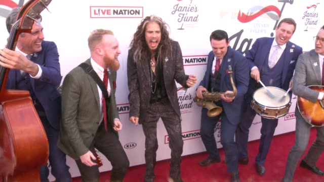 Steven Tyler The London Essentials at Steven Tyler and Live Nation presents Inaugural Janie's Fund Gala GRAMMY Viewing Party in Los Angeles CA