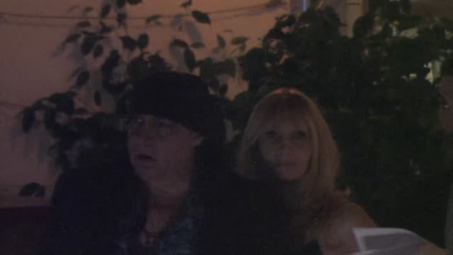 steven van zandt at the 2015 showtime emmy eve party at sunset tower hotel in west hollywood at celebrity sightings in los angeles on september 19,... - スティーブン ヴァン ザント点の映像素材/bロール