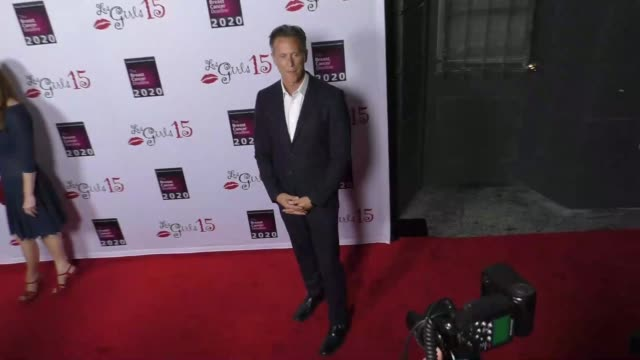 vídeos y material grabado en eventos de stock de steven weber at the 15th annual les girls cabaret at avalon nightclub in hollywood celebrity sightings on october 11 2015 in los angeles california - steven weber