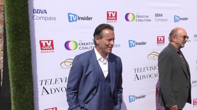 vídeos y material grabado en eventos de stock de steven weber at the television industry advocacy awards at tao hollywood on september 16 2017 in los angeles california - steven weber