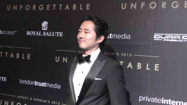 Steven Yeun at the Audrey and KoreAm 2015 Unforgettable Gala at The Beverly Hilton Hotel in Beverly Hills at Celebrity Sightings in Los Angeles on...