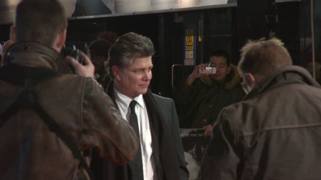 steven zaillian at the girl with the dragon tattoo world premiere at odeon leicester square on december 12 2011 in london england - the girl with the dragon tattoo stock videos and b-roll footage