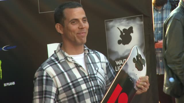 steveo at waiting for lightning screening and afterparty presented by dc shoes a documentary about skateboarder danny way on 4/10/12 in los angeles ca - dc shoes stock videos & royalty-free footage
