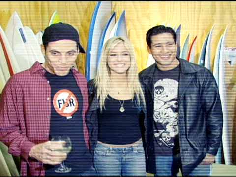 steve-o, kristin cavallari and mario l?pez at the special preview of the new speedy gonzales collection on april 19, 2007. - steve o stock videos & royalty-free footage