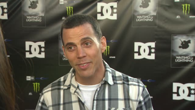 steveo on why he wanted to support the film how danny has been his hero since childhood how the sport has grown over the years and talks about his... - dc shoes stock videos & royalty-free footage